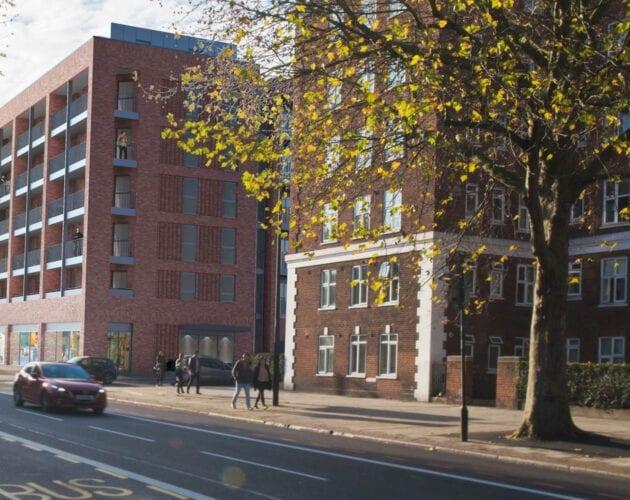 Olive Morris House Brixton